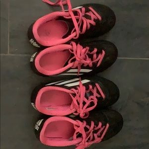 Addidas Girls Size 13 Soccer Cleats